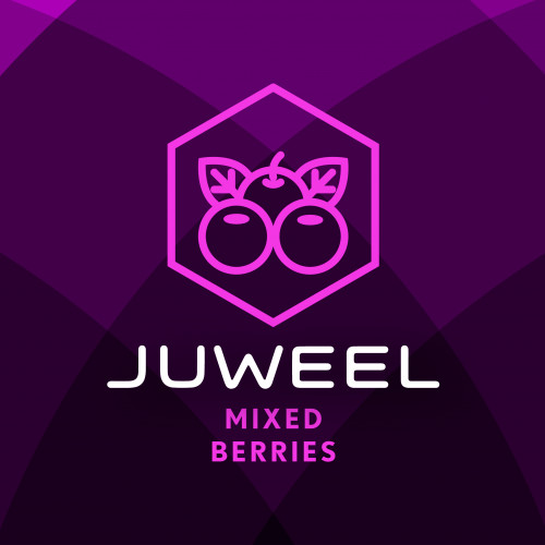 JUWEEL e-LIQUID - MIXED BERRIES - 60ml @ 12mg