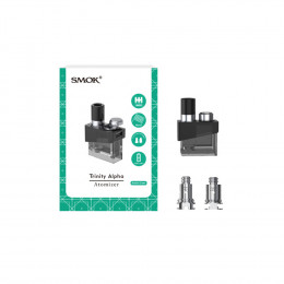1pcs - SMOK Trinity Alpha Pod - 2.8ml