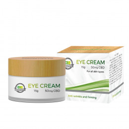 CBD Eye Cream - 15g @ 50mg CBD