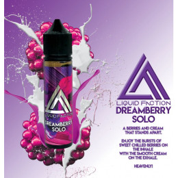Liquid Faction - Dreamberry Solo - 60ml @ 2mg