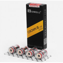 UWELL - Crown 3 Replacement Coils 0.5ohm - 4 Pack