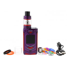 SMOK - Veneno 225W TC Kit with TFV8 Big Baby Light Edition (Excluding Batteries) - Purple Red