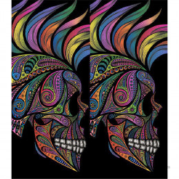 SMOK Novo 2 Shell Sticker - Skull Hippies