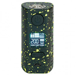 Hugo Vapor - Rader ECO 200W Box MOD (Excluding Batteries) - Yellow Black