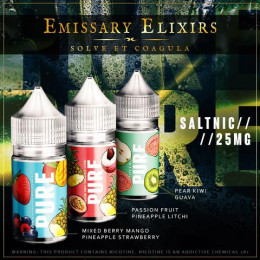 Emissary Elixirs Salt Nic - 30ml @ 25mg @ R160
