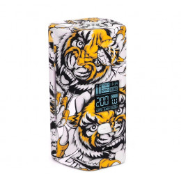 Hugo Vapor - Rader ECO 200W Box MOD (Excluding Batteries) - Tiger