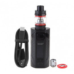 SMOK - Rigel 230W VW Box Mod + TFV9 Tank Kit (Excluding Batteries) - Black