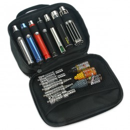 Vaping Carry Case with handle (Double Deck)