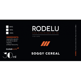 RODELU -- SOGGY CEREAL -- 30ml @ 3mg